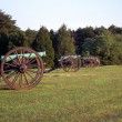Manassas Valley Battlefield - Stock Photo