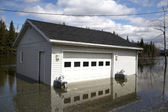 Flooded Garage — Photo