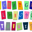 Children's alphabet — Stock Photo #6176495