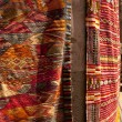 Moroccan Carpets in a street shop souk — Stock Photo