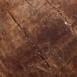 Cracked old wooden backdrop, full frame - Stock Photo
