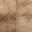 High resolution stiched suede leather texture - 
