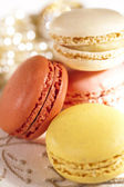 Festive macarons, colorful — Stock Photo