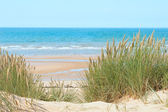 Sand beach in Formby, UK — Stock Photo