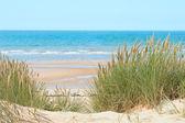Sand beach in Formby, UK — Stock Photo