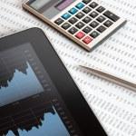 Stock Market Analyze — Stock Photo