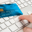 Electronic payment concept — Stock Photo