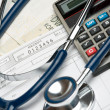 Stock Photo: Health financing concept