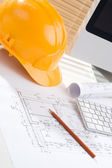 Construction manager office — Stock Photo