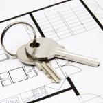 Key to housing — Stock Photo