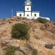 Lighthouse on Santorini — Stock Photo