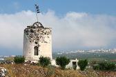Windmill on Santorini — Stock Photo