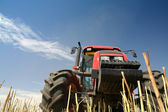 Agriculture - Tractor — Stock Photo