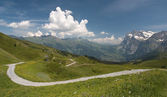 швейцарские альпы — Стоковое фото