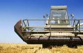 Agriculture - Combine — Stock Photo
