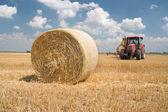 农业-拖拉机 — 图库照片