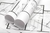 Plánování architektury — Stock fotografie
