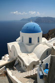 Church on Santorini — 图库照片