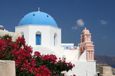 Church on Santorini — Stock fotografie