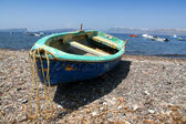 Barco de pesca — Foto Stock