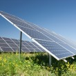 Solar power station — Stock Photo