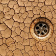 Dry ground - drought — Foto Stock