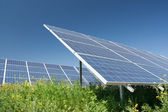 Solar power station — Foto Stock
