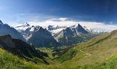 Eiger in Alpen, Zwitserland — Stockfoto