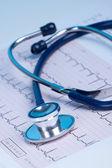 Medical concept - heart checkup — Stock Photo