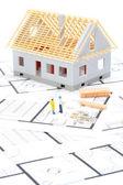 Budowa domu — Zdjęcie stockowe