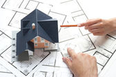 Planificación de vivienda — Foto de Stock