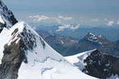 Jungfraujoch in Alps, Switzerland — Stock Photo