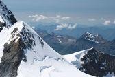 Jungfraujoch nelle alpi, svizzera — Foto Stock