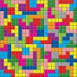Royalty-Free Stock Vector Image: Colorful puzzle pieces