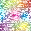 Skin texture of zebra - Image vectorielle