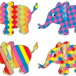 Elephants — Stock Vector #6408236