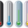 Set of thermometers — Stock Vector #6459800