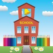 Royalty-Free Stock Vector Image: School