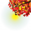 Royalty-Free Stock Vector Image: Autumn maple leaves