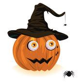Pumpkin for Halloween — Stock Vector