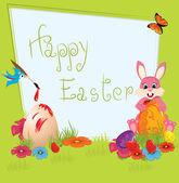Joyeuses Pâques — Vecteur