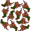 Royalty-Free Stock Imagem Vetorial: Christmas seamless pattern