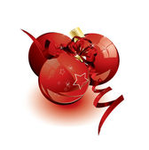 Beautiful Christmas ball vector — Stock Vector