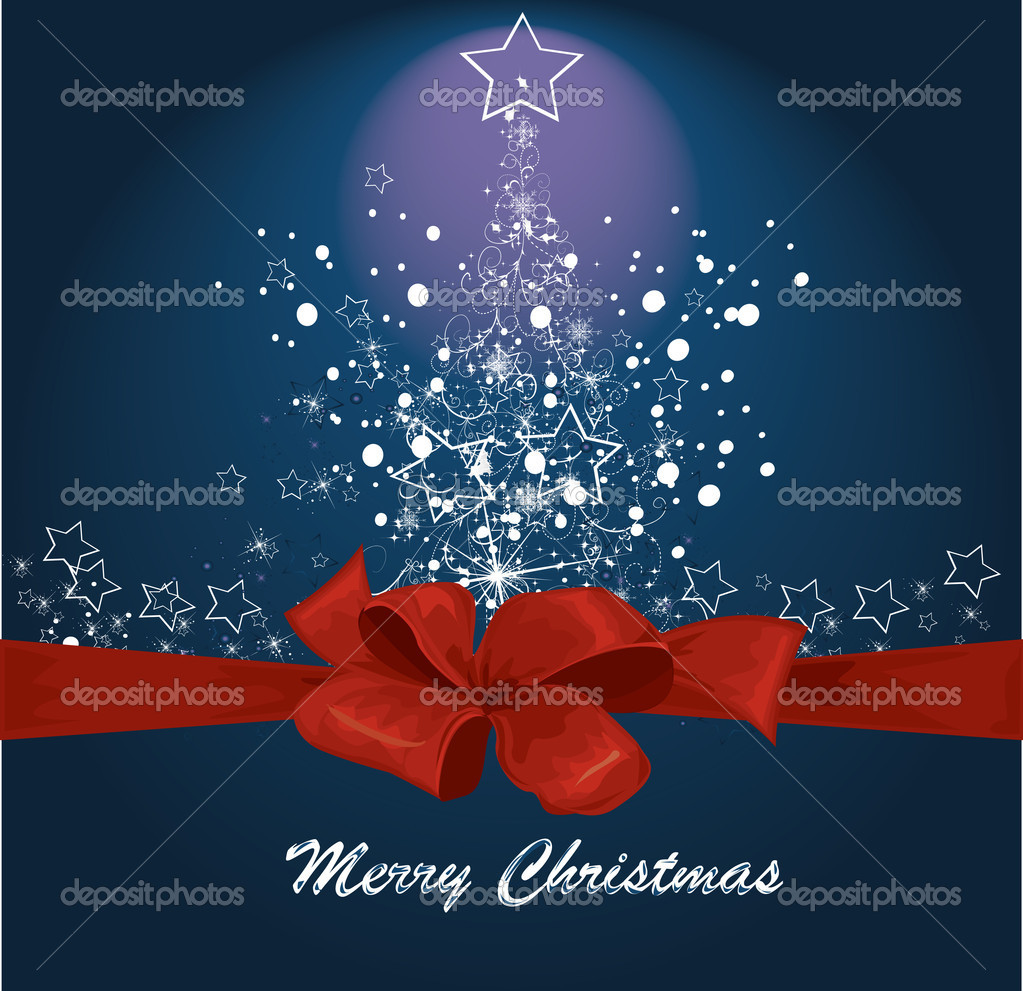 Vector Christmas background   Stock Vector #6601301