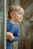 Curious child — Stock Photo