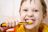 Brushing your teeth — Stock Photo