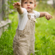 Boy on grass — Stock Photo #6163170