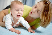 Crying baby — Stock Photo