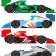 Race Car Vector - Stock Vector
