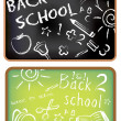Back to school doodle — Stock Vector